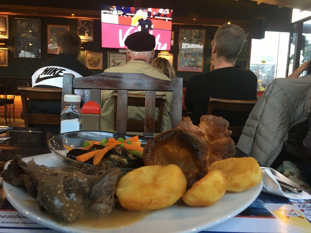 Beyoğlu'nda bir Gastro-pub: Spor, gastronomi ve göç